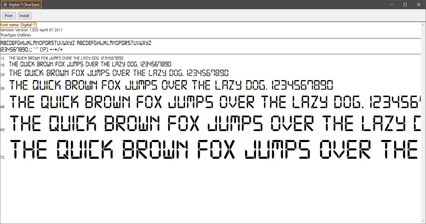Using Custom Fonts